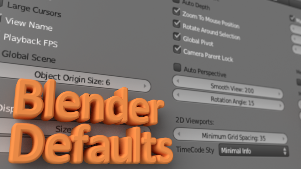 blenderdefaults
