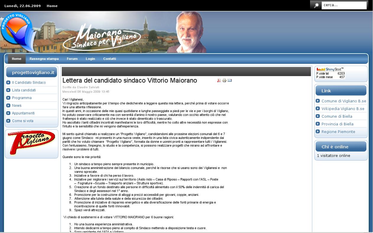 www.progettovigliano.it